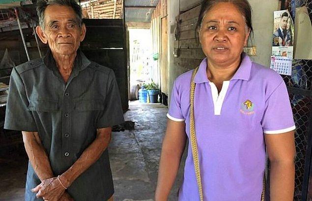 Sak'in öfkesiyle daha fazla üstesinden gelemeyeceğini anlayan aile, yetkililere haber vermeye karar verdi.