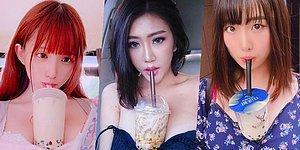 Eller Havaya Bardaklar Meme Arasına! İnsanların Giderek Kafayı Yediğinin Kanıtı Bir Garip Trend: Bubble Tea Challenge