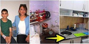 Açlıktan Bayıldığı İçin Kolunu Kıran Görme Engelli Öğrencisinin Çatısı Olmayan Harap Haldeki Evini Yenileyen Arzu Öğretmen