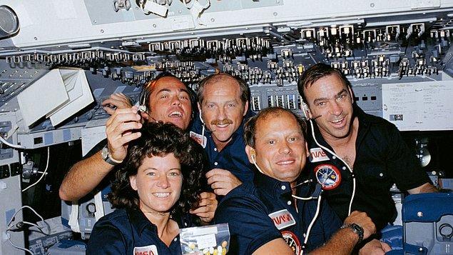 Ride, 1973'te fizik alanında lisans derecesi aldı. Stanford'da kalıp 1975 yılında yüksek lisansını tamamladı. 1978'de de aynı alanda doktora yaptı. Ride'ın bir sonraki durağı NASA'ydı...