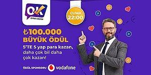 Bu Cuma Akşamı Kimseye Söz Vermeyin: Oyna Kazan Doğru - Yanlış Lansmanında Büyük Ödül Tam 100.000 TL!