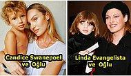 Genleri Güzel! Dünyanın En Çekici Kadınları Olarak Bilinen Ünlülerin Birbirinden Sevimli Çocukları