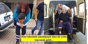 Çok Güzelsiniz be! Yenilenen İstanbul Seçimi İçin Hiçbir Engel Tanımadan Sandık Başına Giden Yaşlı ve Hasta Vatandaşlar