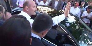 Binali Yıldırım'ın Ak Parti İl Başkanlığı'ndan Ayrıldığı Sırada 'İl Başkanı İstifa' Diye Bağıran Gruba Süleyman Soylu'dan Müdahale