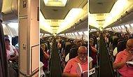 Geç Kalkan Uçağın Pilotundan Özür Anonsu: 'Her Şey Çok Güzel Olacak'