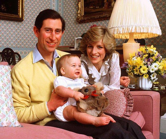 Önce Prens William'ın hikayesiyle başlayalım; Charles ve Diana'nın ilk oğluyla.