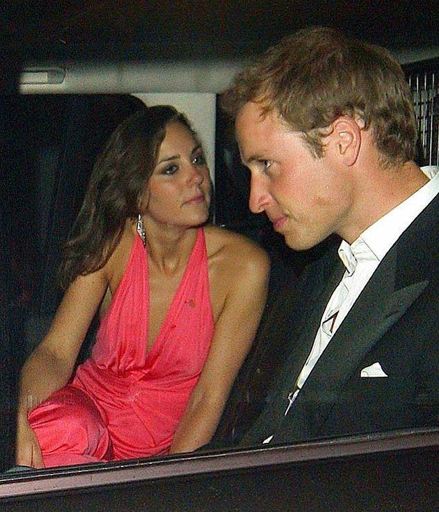 Hem de ne etkileme! Resmen Kate'in peşinde koşuyor William.