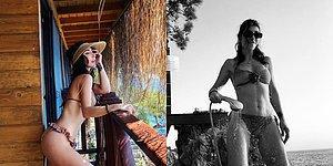 Hande Yener Instagram'da Paylaştığı Bikinili Fotoğraflar Nedeniyle İltifat Yağmuruna Tutuldu, Ortalık Yıkıldı!