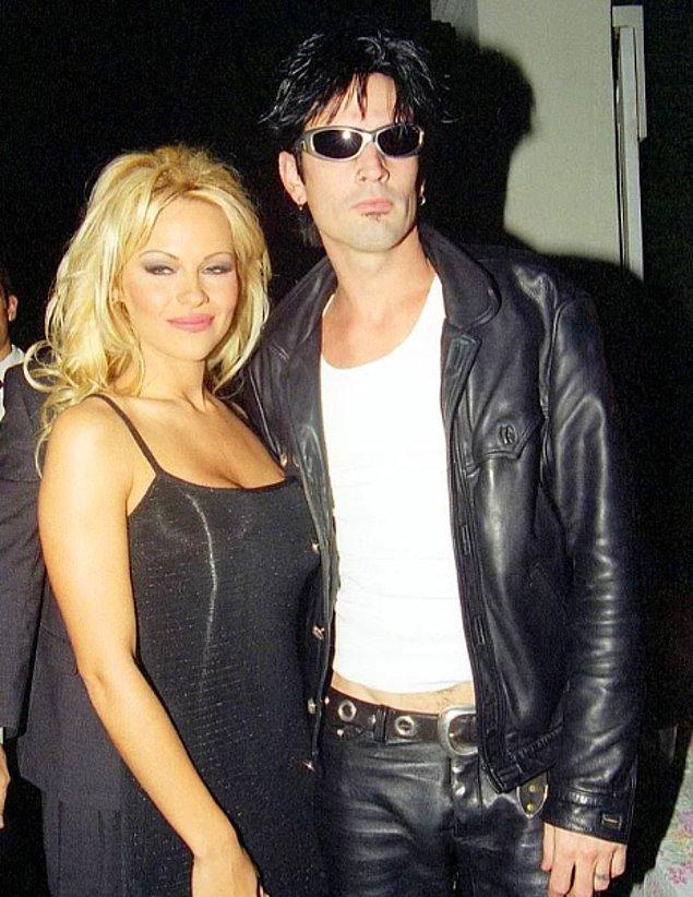 Pamela'nın önceki aşkı ise çocuklarının babası olan eski eşi Motley Crue'nun bateristi Tommy Lee.