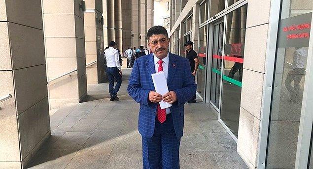 Aydoğmuş, dilekçesini YSK'ya iletilmek üzere İstanbul İl Seçim Kurulu'na sundu.