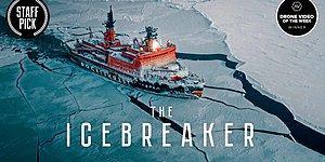 Kuzey Kutbu'nda İlerleyen Dünyanın En Büyük Nükleer Buzkıranının Nefes Kesen Videosu!