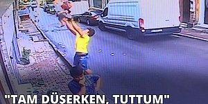 İkinci Katın Penceresinden Düşen Bebeği Havada Yakalayan Cezayirli Genç