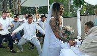 Ölmeden Önce Yapılan Düğününde Rugby Oyuncusu İçin Takımından Göz Yaşartan Haka Dansı