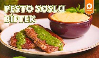 Krem Peynirli Patates Püresi ile Pesto Soslu Biftek Tarifi - Pratik Yemek Tarifleri