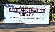 Mansur Yavaş'tan Duraklara Pankart: 'Geciken Bu Karar İçin Vatandaşlarımızdan Özür Diliyoruz'