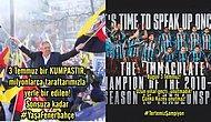 Fenerbahçe ve Trabzonspor'dan 3 Temmuz Paylaşımları