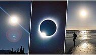 Dün Gerçekleşen Güneş Tutulmasını Fotoğraflayan İnsanların İnternette Paylaştığı Muazzam Görüntüler