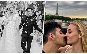 Game Of Thrones'un Sansa'sı Sophie Turner ve Joe Jonas Paris'te Masal Gibi Bir Düğün Yaptı!