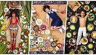 Yiyecekleriyle Poz Verdiler! Dünyanın Çeşitli Ülkelerindeki Çocuklar Bir Hafta Boyunca Neler Yiyor?