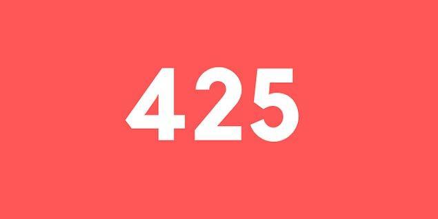Üniversite sınav sonucun 425 puan!