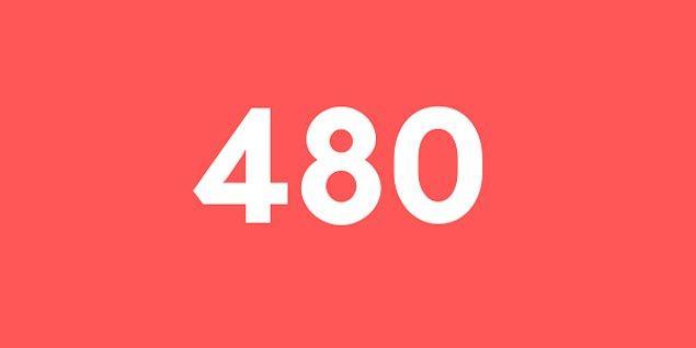 Üniversite sınav sonucun 480 puan!