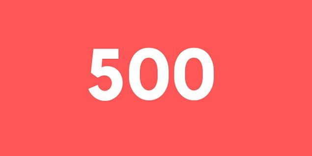 Üniversite sınav sonucun 500 puan!