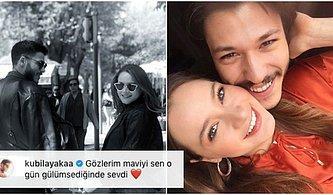 Kubilay Aka'nın Sevgilisi Miray Daner'le Fotoğrafına Yazdığı Aşk Dolu Sözler ve Karşılığında Aldığı Aşırı Minnoş Cevap