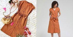 Bu Yaz Kendinizi Özel Hissedeceğiniz Birbirinden Ferah ve Güzel Gömlek Elbiseler Tasarladık!