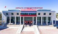 2019 Antalya Akev Üniversitesi Taban Puanları ve Başarı Sıralamaları