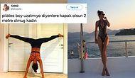 Yamulttuğu Kapılarla, Pürüzsüzleştirdiği Yüzüyle Photoshop'un Adeta Kraliçesi Olan Ebru Şallı Yine Boyuyla Oynadı