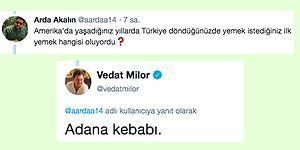 Vedat Milor'un Twitter'dan Gelen Sorulara Verdiği Birbirinden Leziz Yanıtlar