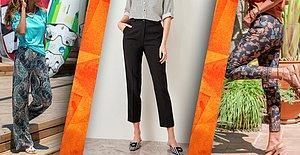 Ofisten Günlük Kullanıma Her Yerde Sonsuz Sayıda Kombin Yapabileceğiniz Pantolonlar İnanılmaz Fiyatlarla!