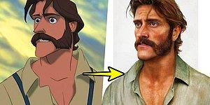 Disney Karakterleri Gerçek İnsan Olsalardı, Nasıl Görünürlerdi?