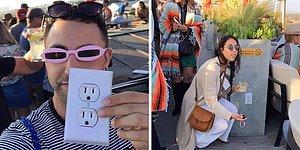 Sahte Elektrik Prizi ile İnsanları Troll'leyen Şakacı