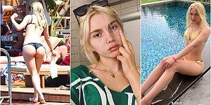 Aleyna Tilki Kilo Eleştirilerine İnat Verdiği Bikinili Pozlarla Sosyal Medyayı Sallamaya Devam Ediyor!
