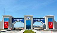Kırklareli Üniversitesi  2019 Taban Puanları ve Başarı Sıralamaları