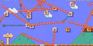 İzlerken Dahi İnsanı Dert Sahibi Yapan Ultra Zor Super Mario Oyunu