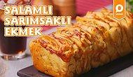 Bir Dilim Yiyen Bir Dilim Daha İstiyor! Salamlı Sarımsaklı Ekmek Nasıl Yapılır?