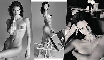 Süper Model Kendall Jenner Instagram'da Çırılçıplak Fotoğraflarını Paylaştı, Sosyal Medya Yıkıldı!