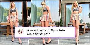 Yine Photoshop Mevzusu! Aleyna Tilki, Paylaştığı Fotoğraftaki Abartılı Bacak Boyu Milletin Diline Düşünce Cevabını Vermekte Gecikmedi