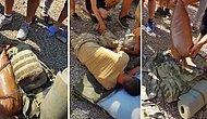 45 Derece Sıcakta Sırtına 3 Adet Kum Torbası Konularak Eğitim Yaptırılan Asker Hastanelik Oldu