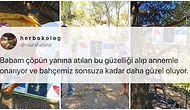 Çöpün Yanında Buldukları Atatürk, İstiklal Marşı ve Gençliğe Hitabe Posterlerini Tamir Eden Güzeller Güzeli Aile