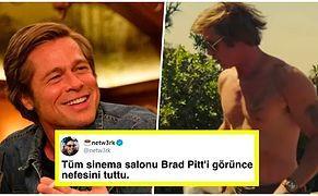 Nefes Kesti! Brad Pitt, Yeni Filmi 'Once Upon A Time In Hollywood' ile İzleyenlerin Gözlerini Şenlendirdi