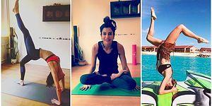 Kendilerine Hem İçten Hem de Dıştan Baktıklarını Kanıtlarcasına Yoga Yapan Ünlü Kadınlar