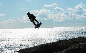 Bu Kez Başardı! Franky Zapata, Flyboard Air ile Manş Denizi'ni Geçti