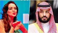 Suudi Arabistan Veliahtı Prens Salman ile Lindsay Lohan'in Arasında Yeni Bir Aşk mı Doğuyor?