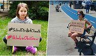 İklim Krizine Dikkat Çekmek İçin Okuldan Sonra Eylem Yapan 11 Yaşındaki Tek Kişilik Dev Kadro Deniz Çevikus'la Tanışın!