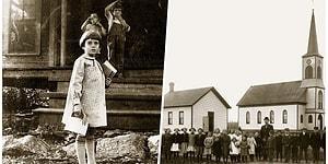 Yüz Yıl Önce Amerika'da Okulların Nasıl Göründüğünü Gözler Önüne Seren Fotoğraflar
