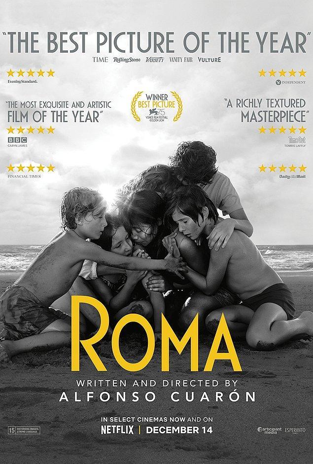 2. Netflix'in en iyi filmi olarak gösterilen ''Roma'' hangi ülkede geçmektedir?