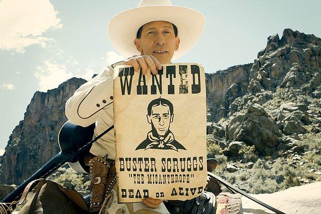 3. ''The Ballad of Buster Scruggs'' çok ses getiren filmlerden biri. Pekii bu filmin yönetmeni kimdir?